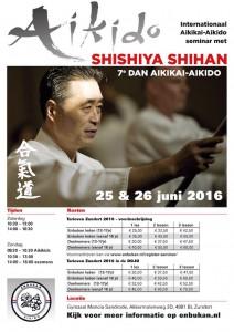 Poster Seminar Shishiya Sensei 2016 The Netherlands